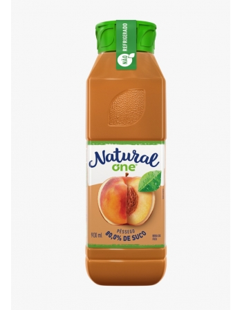 SUCO NATURAL ONE PESSEGO 900ML