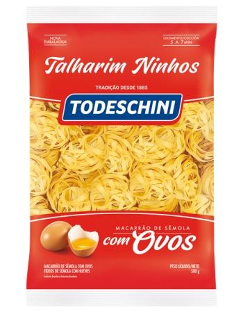 MAC TODESCHINI OVOS TALHARIM NINHOS 500G