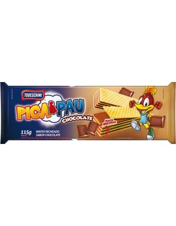 WAFER TODESCHINI CHOCOLATE 115G