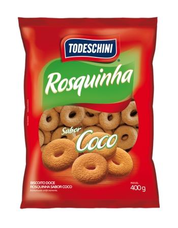 ROSQUINHA TODESCHINI COCO 400G