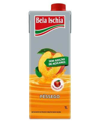 NECTAR BELA ISCHIA BX CALORIA PESSEGO 1000ML