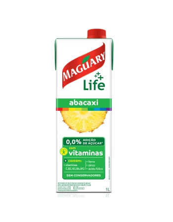 NECTAR MAGUARY LIFE ABACAXI 1000ML