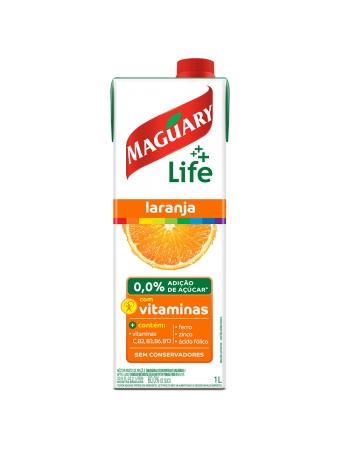 NECTAR MAGUARY LIFE LARANJA 1000ML