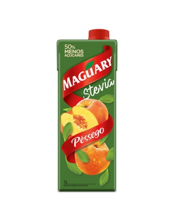 NECTAR MAGUARY PPB STEVIA PESSEGO 1000ML