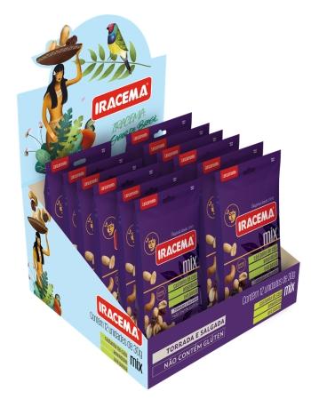 MIX DE NUTS IRACEMA 12X50G