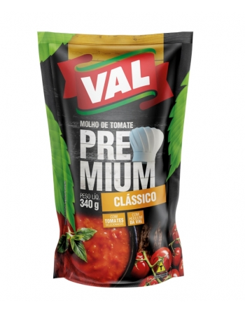 MOLHO TOMATE PREMIUM VAL POUCH 340G