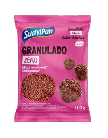 GRANULADO CHOCOLATE ZERO ACUCAR/LACTOSE 12X100G