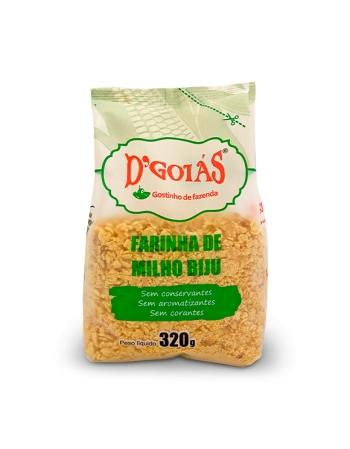 FARINHA DE MILHO DGOIAS BIJU 320G