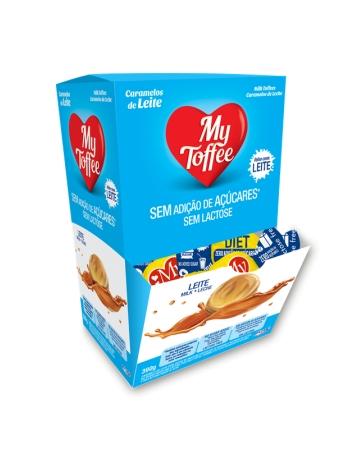 BALA MY TOFFEE DIET ZERO LACTOSE LEITE 390G