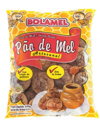PAO DE MEL ARTESANAL BOLAMEL 300G