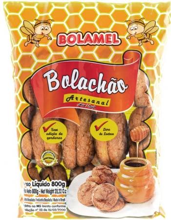 BOLACHAO ARTESANAL BOLAMEL 800G