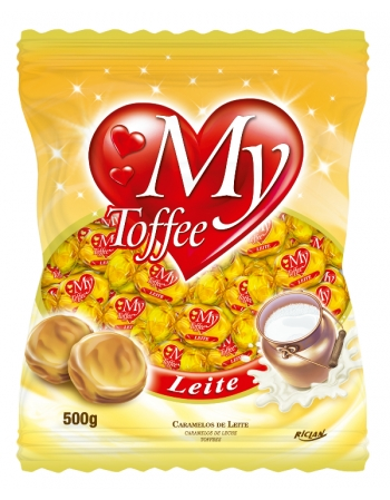 BALA MY TOFFEE LEITE 500G
