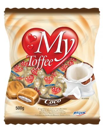 BALA MY TOFFEE LEITE COCO 500G