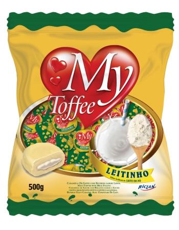 BALA MY TOFFEE LEITINHO 500G