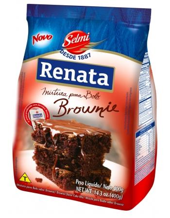 MISTURA BOLO RENATA BROWNIE 400G