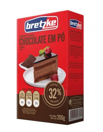 CHOCOLATE EM PO 32% BRETZKE DPL 200G