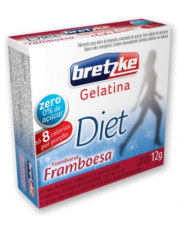 GELATINA BRETZKE DIET FRAMBOESA 10G