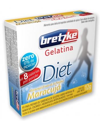 GELATINA BRETZKE DIET MARACUJA 10G