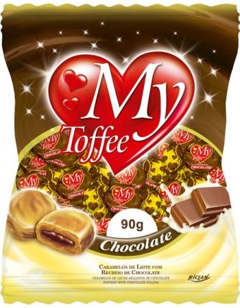 BALA MY TOFFEE LEITE CHOC 90G