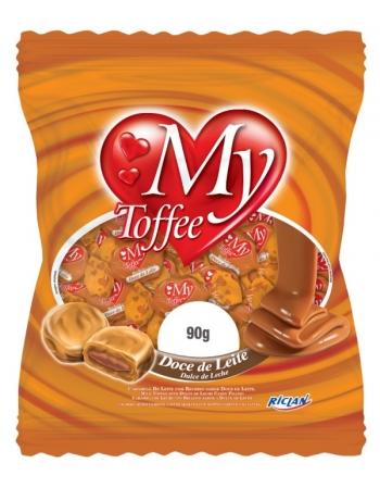 BALA MY TOFFEE DOCE DE LEITE 90G