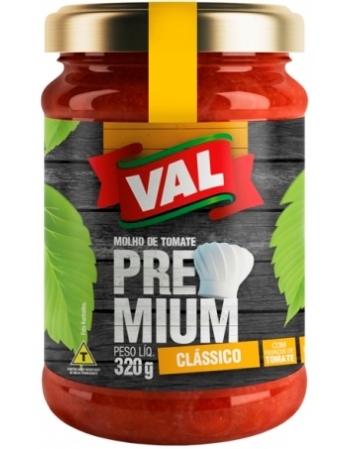 MOLHO TOMATE PREMIUM VAL VIDRO 340G
