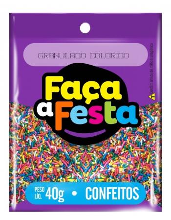 CONFEITO FACA A FESTA MICANGA COLOR 40G