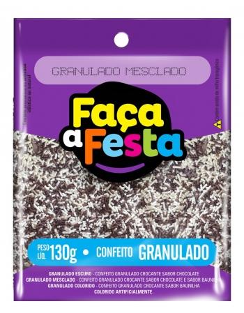 GRANULADO FACA A FESTA MESCLADO 130G