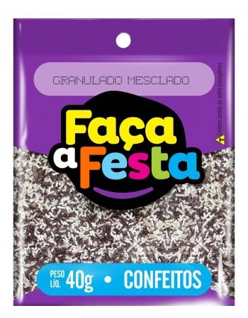 GRANULADO FACA A FESTA MESCLADO 40G