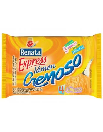 LAMEN RENATA CREMOSO 4QUEIJOS 88G