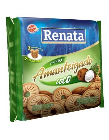 BISC RENATA AMANTEIGADO COCO 330G