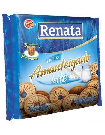 BISC RENATA AMANTEIGADO LEITE 330G