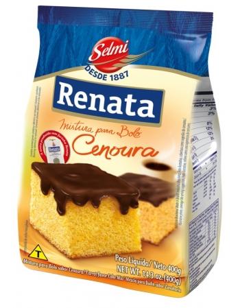 MISTURA BOLO RENATA CENOURA 400G