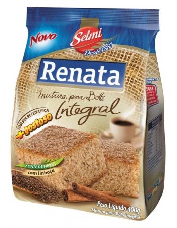 MISTURA BOLO RENATA INTEGRAL 400G
