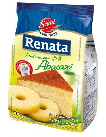 MISTURA BOLO RENATA ABACAXI 400G
