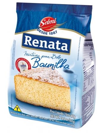 MISTURA BOLO RENATA BAUNILHA 400G