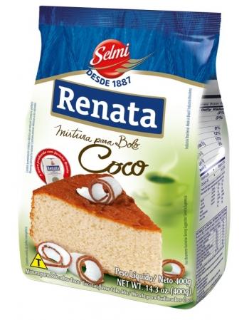 MISTURA BOLO RENATA COCO 400G
