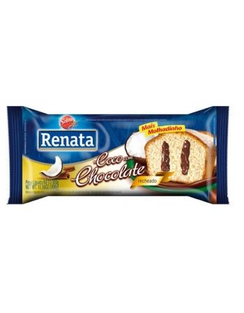 BOLO RENATA RECH COCO C CHOCOLATE 300G