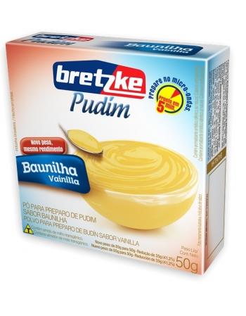 PUDIM BRETZKE BAUNILHA 50G