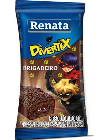 MINIBOLO RENATA DIVERT BRIGADEIRO 20X40G