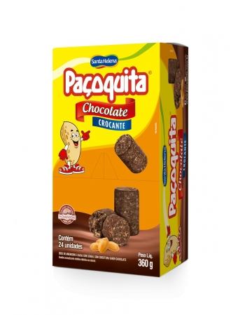 PACOQUITA ROLHA CROC CHOC 360G