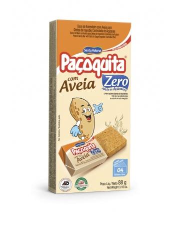 PACOQUITA ZERO C/ AVEIA DISP 88G