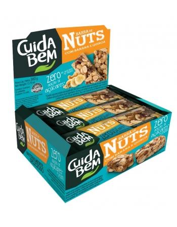 CD BEM BARRA NUTS BAN E SEMENTES 12X30G