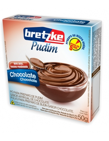 PUDIM BRETZKE CHOCOLATE 50G
