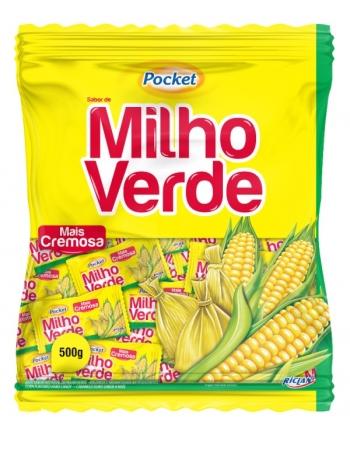 BALA POCKET MILHO VERDE 500G