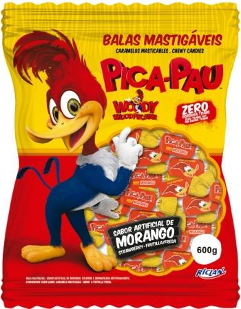BALA MAST PICA PAU MORANGO 600G