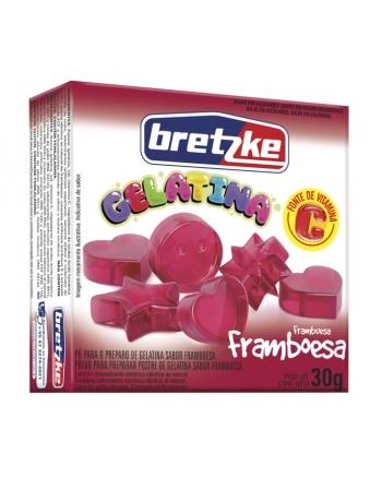 GELATINA BRETZKE FRAMBOESA 30G