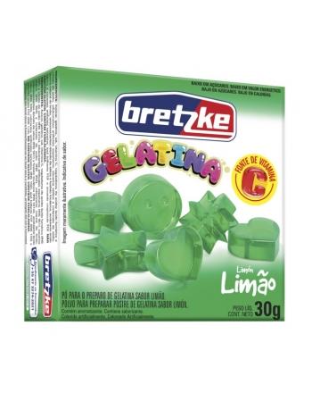 GELATINA BRETZKE LIMAO 30G
