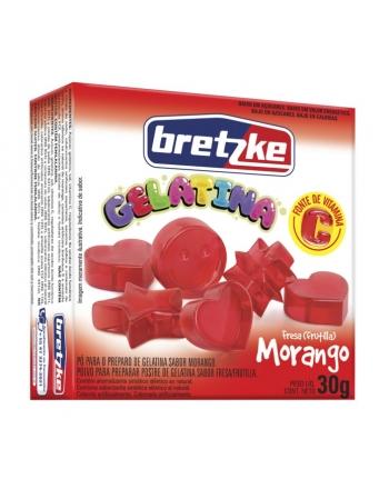 GELATINA BRETZKE MORANGO 30G