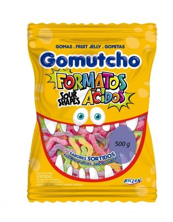 GOMA GOMUTCHO MINHOCAS ACIDAS 500G