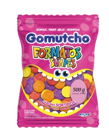 GOMA GOMUTCHO AMERIC SORTIDA 500G